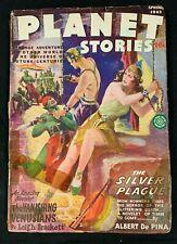 1945 FICTION HOUSE MAGAZINE *PLANET STORIES VOL 2 #10* PULP/SCIENCE FICTION