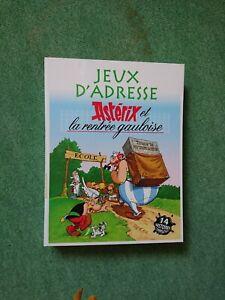 Jeux d adresse Asterix et Obelix