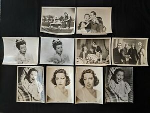 Vintage 1940 Hollywood Actress & Comedienne Fanny Brice Movie & Portrait Lot 18p