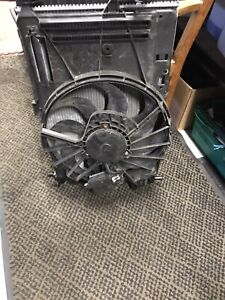 Ford Focus 1.0 ecoboost radiator and fan 2015 onwards
