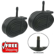 "2 x 20"" inch Bike Inner Tube 20 x 1.75 - 2.125 Bicycle Rubber Tire Interior BMX"
