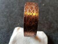 Viking Runic Bracelet Handcrafted custom made Extra Large