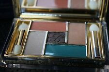 ESTEE LAUDER FIVE COLOR PALETTE EYE SHADOW BATIK SUN brown green