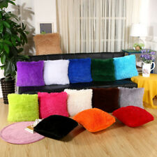 "18"" Plush Stuffed Cushion Cover Square Throw Pillow Case Decorative Pillowcase"