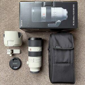 Sony FE 70-20mm F2.8 GM OSS Full Frame E-Mount Telephoto Zoom Lens