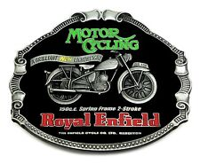 Royal Enfield Belt Buckle Classic Motorcycle Bike Authentic Officially Licensed