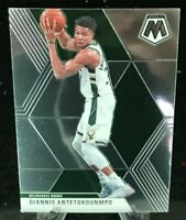 Giannis Antetokounmpo 2019-20 Panini Mosaic Base Card #75 Milwaukee Bucks