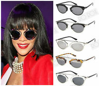 New So Rihanna Celebrity Vintage Designer Style Real Fashion Shades Sunglasses