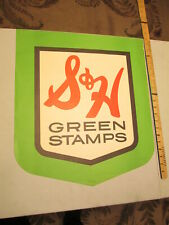 """S/&H Green Stamps Metal Sign Ad Repro 9x12/"""" 60222"""