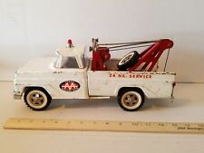 1967 TONKA AA WRECKER TRUCK WITH RED BOOM Pressed Steel Vintage Toy Tow Truck