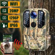 Campark Wildkamera 20MP 1296P WIFI IR Nachtsicht Wasserdichte Überwachungskamera