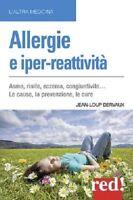 Allergies Et Iper-Reattivita' (Jean-Loup Dervaux) Livre Red! Edizioni