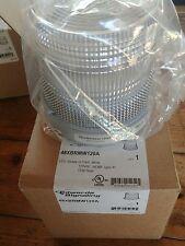 EDWARDS Signaling LAMP 48XBRMW120A LED WHITE STEADY OR FLASHING 120VAC NEMA 4X