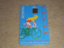CYCLISME OBJET PUBLICITAIRE TOUR de FRANCE 1996 CARTE TELEPHONIQUE 120 UNITES
