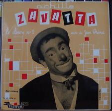 """ZAVATTA/JEAN DRENA LE CLOWN N°1 MAX DUFOUR COVER 45t 7"""" FRENCH EP"""