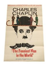 THE FUNNIEST MAN IN THE WORLD ORIGINAL STUDIO RERELEASE MOVIE POSTER 27X40 1967