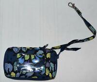 Vera Bradley Wristlet Wallet in Retired Indigo Pop Pattern
