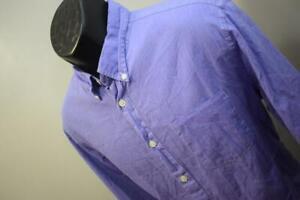 John Varvatos USA Dress Shirt Purple Long Sleeve Button Up Mens Size Large