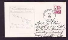Lt. Col. Fred Olivi (d.2004) Signed 1979 First Day Cover FDC Cachet Bockscar PSA