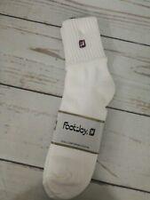 NWT Footjoy Socks ~ Women's ~ White ~ Golf ~  Size 9-11