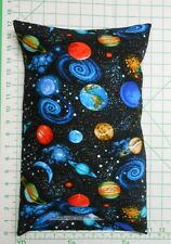PLANETS and Space -  Small Pillow Case with Travel / Toddler Pillow