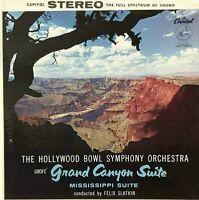 "Grand Canyon Suite/ Mississipi FERDE GROFE' 12"" LP Capitol SP8347 Classic VG+/EX"