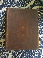 1846 W. & H. Merriam Published Leather Extra Large Size Bible