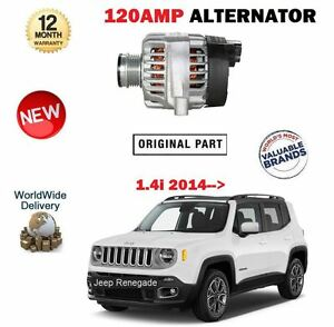 FOR JEEP RENEGADE 140BHP 1.4 2014--> NEW 120AMP ALTERNATOR UNIT