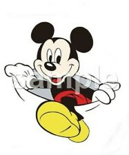 Disney Mickey pocket-size vinyl iron on transfer