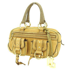 Dolce&Gabbana Handbag Gold Brown Woman Authentic Used T2092