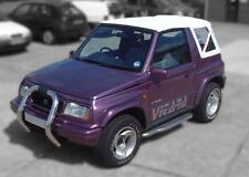 Suzuki Vitara Mk1 Soft Top,Car Hood, White Vinyl.
