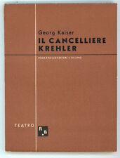 KAISER GEORG IL CANCELIERE KREHLER ROSA E BALLO 1944 TEATRO MODERNO  7