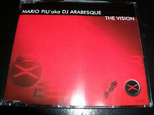 Mario Piu Aka DJ Arabesque – The Vision – Hard Trance 5 Track Remixes AUST CD