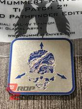 "TAD Pathfinder Glacial Abyss 2"" Titanium Patch Ti Triple Aught Design Mummert"