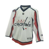 Washington Capitals Official NHL Reebok Apparel Kids Youth Size Jersey New Tags