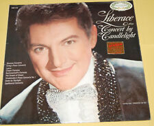 Liberace Plays Concert By Candlelight LP