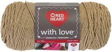 Red Heart With Love Tan Knitting & Crochet Yarn
