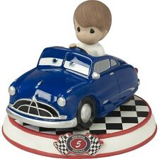 $ PRECIOUS MOMENTS DISNEY Figurine CARS PIXAR MOVIE Doc Hudson Blue Doctor Boy