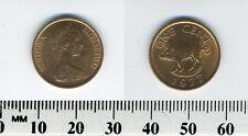 Bermuda 1977 - 1 Cent Bronze Coin - Queen Elizabeth II - Wild boar