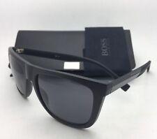 New HUGO BOSS Sunglasses 0834/S HWO3H 56-18 Dark Brown & Carbon w/Grey Polarized
