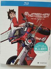 Brand new Autographed Eureka Seven blu-ray Johnny Yong Bosch