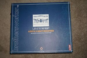Brothersworker Levi's N3bp Levi X Brothersfree 500 Limited Figure Complete #B9