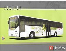 'FAST EUROPE STARTER'  BUS COACH SALES BROCHURE LATE 2000's?