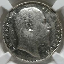 INDIA British 1 rupee 1905 (B) Bombay NGC AU 58 UNC
