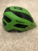 Scott Stego MetallicGreen Matte MIPS Mountain Bike Helmet Size Small- New In Box