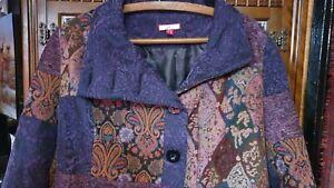 Joe Browns Tapestry Patchwork Coat 18 NEVER WORN