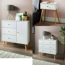 Modern Bedside Table Cabinet Chest of Drawers Nightstand Sideboard Bedroom Unit