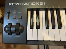 M-Audio Keystation 61 MK2 61 Key USB MIDI Keyboard Controller