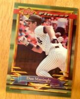1994 FINEST DON MATTINGLY #392 NM-MT OR BETTER