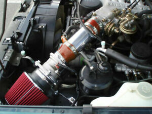 BCP RED 1991-1995 For Pathfinder PickUp 3.0L V6 XE SE Short Ram Air Intake